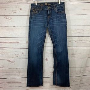 Kut from the Kloth Kate Lowrise Bootcut Jean sz 6!